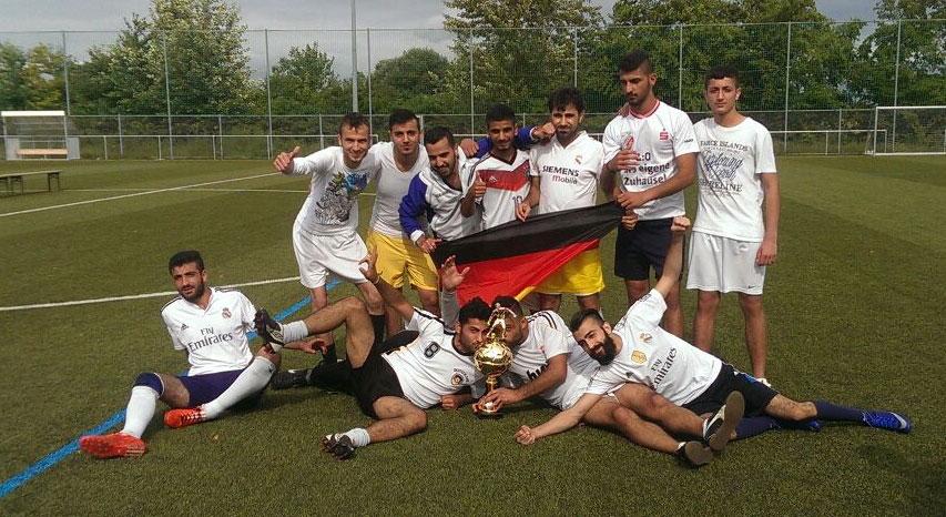 Siegermannschaft-Pakistan