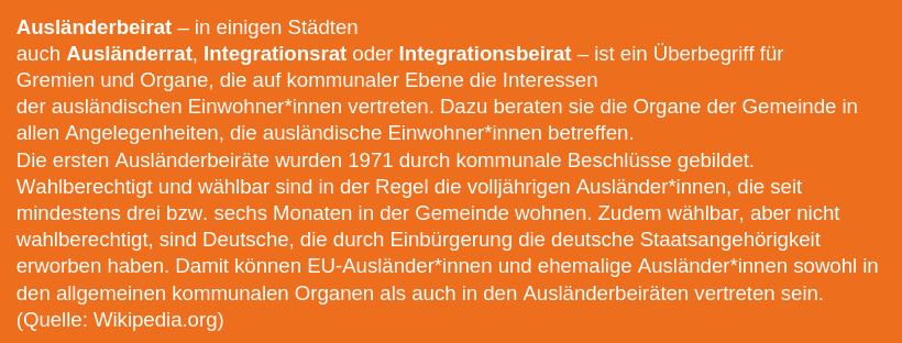 online store cc125 5c281 Zur Geschichte der Integrationsbeiräte.